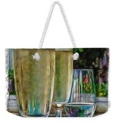 Champagne At The Beach Weekender Tote Bag
