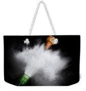 Champagne Cork Popping Weekender Tote Bag