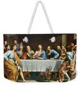 Champaigne: Last Supper Weekender Tote Bag