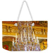 Chandelier At Versailles Weekender Tote Bag