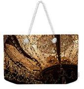 Chandelier Shimmer Weekender Tote Bag