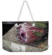 Protea Still Life Weekender Tote Bag