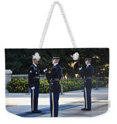 Changing Of The Guards  Weekender Tote Bag