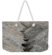 Channel Eroded By Water Weekender Tote Bag