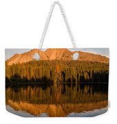 Chaos Crags Reflecting Weekender Tote Bag