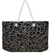 Chaos Of Stacked Metal Fencing Weekender Tote Bag