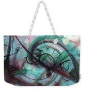 Chaos Weekender Tote Bag by Linda Sannuti