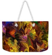Chaotic Canvas Weekender Tote Bag