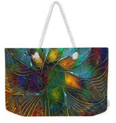 Chaotic Colour Weekender Tote Bag