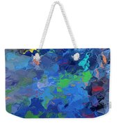 Chaotic Nature Weekender Tote Bag