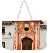 Chapel Of Conception In Cordoba Weekender Tote Bag