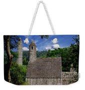 Chapel Of Saint Kevin At Glendalough Weekender Tote Bag