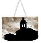 Chapel Silhouette Weekender Tote Bag