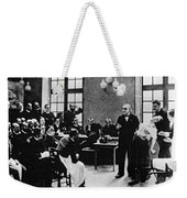 Charcot Demonstrating Hysterical Case Weekender Tote Bag