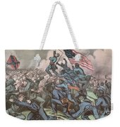 Charge Of The 54th Massachusetts Weekender Tote Bag