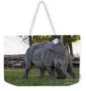 Charging Rhino. Weekender Tote Bag