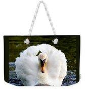 Charging Swan Weekender Tote Bag