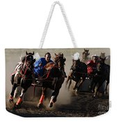 Rodeo Chariot Race Weekender Tote Bag