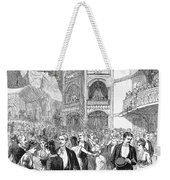 Charity Ball, 1880 Weekender Tote Bag by Granger
