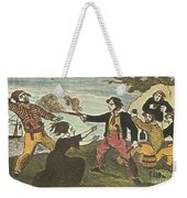 Charles Gibbs, American Pirate Weekender Tote Bag by Photo Researchers