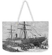 Charleston: Cotton Ship Weekender Tote Bag