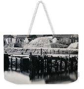Charleston South Carolina - Vanderhorst Wharf - C 1865 Weekender Tote Bag