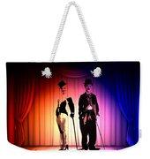 Charlie And Marilyn Weekender Tote Bag