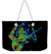 Playing Psychedelic Blues At Winterland In 1975 Weekender Tote Bag