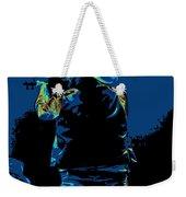 Winterland Cosmic Fiddler Weekender Tote Bag