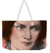 Charlotte Bronte, English Author Weekender Tote Bag