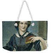 Charlotte Bronte Weekender Tote Bag