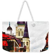 Chartres Street - New Orleans Weekender Tote Bag