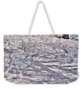 Chasing Snowflakes Weekender Tote Bag