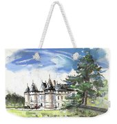 Chateau De Chaumont In France Weekender Tote Bag