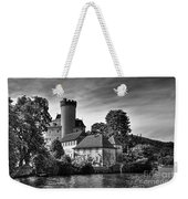 Chateau On The Lake At Annecy Weekender Tote Bag