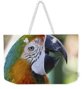 Chatty Macaw Weekender Tote Bag