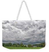 Chautauqua Lake Clouds 8625 Weekender Tote Bag
