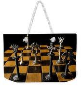 Checkmate Weekender Tote Bag by David Salter