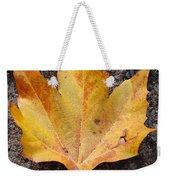 Cheerio Leaf Weekender Tote Bag