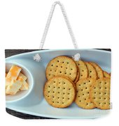 Cheese And Crackers Weekender Tote Bag