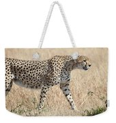 Cheetah Stepping Out Weekender Tote Bag