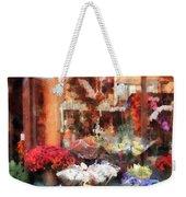 Chelsea Flower Shop Weekender Tote Bag