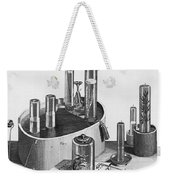 Chemistry Of Gases Weekender Tote Bag