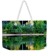 Chena River View Weekender Tote Bag