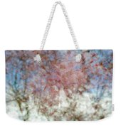 Cherry Blossom Abstract Weekender Tote Bag