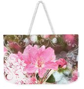 Cherry Blossom Art With Decorations Weekender Tote Bag