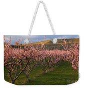 Cherry Blossom Pink Weekender Tote Bag