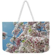 Cherry Blossoms Of The Sky Weekender Tote Bag