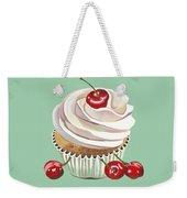 Cherry Cream Weekender Tote Bag