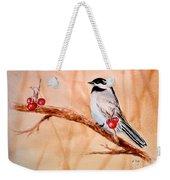 Cherry Picker Weekender Tote Bag